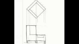 Draft An Orthographic (elevation) View Of A Foreshortened Object