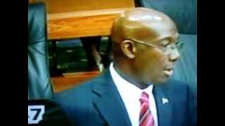 Dr.ROWLEY explains RATIONAL behind PNM Commitment to RAPID RAIL sysyem!