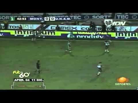 PUMAS CAMPEON Monterrey vs Pumas Final A04 11Dic2004 - YouTube