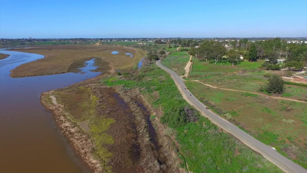 Aerial View Of Back Bay Loop Trail
