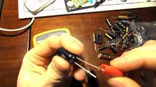 Как измерить емкость конденсатора