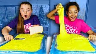 DIY Butter Slime - Satisfying …