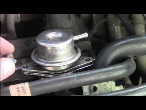 2007 Aveo Fuel Filter How To Remove Install Fuel Pressure Regulator 2 Youtube