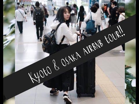 Kyoto and Osaka Airbnb Tour || StephanieFoongvlog #stephaniefoonggetaway #zmstephkansaigetaway17