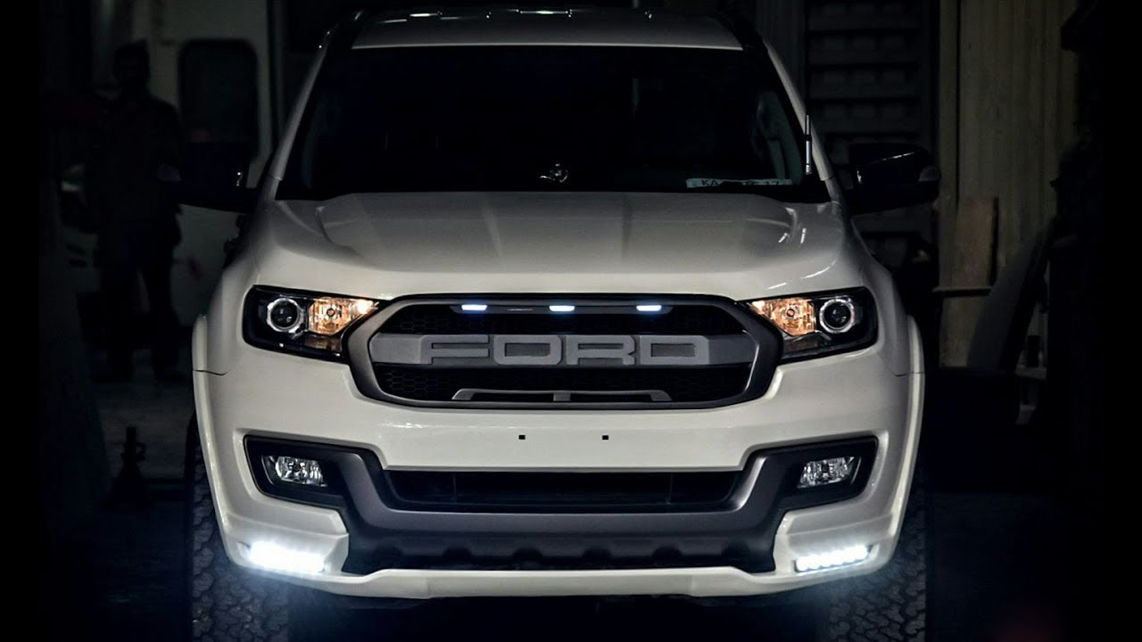Ford Endeavor 2018 All New Ford Endeavour Everest Youtube