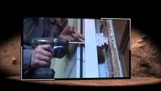 видео Установка противопожарных дверей