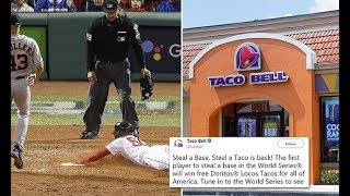 World Series 'Steal a Base' free food offer returns to Taco Bell - Daily News