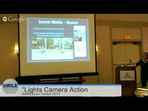 #SMILEcon Tampa: Lights, Camera, Action ~ Connecting With Video