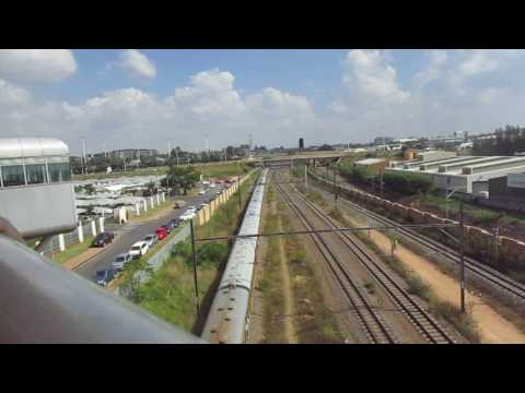 Passenger Train Metro Johannesburg, South Africa