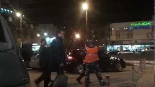 негры против  хачей в Воронеже 5.11.2012