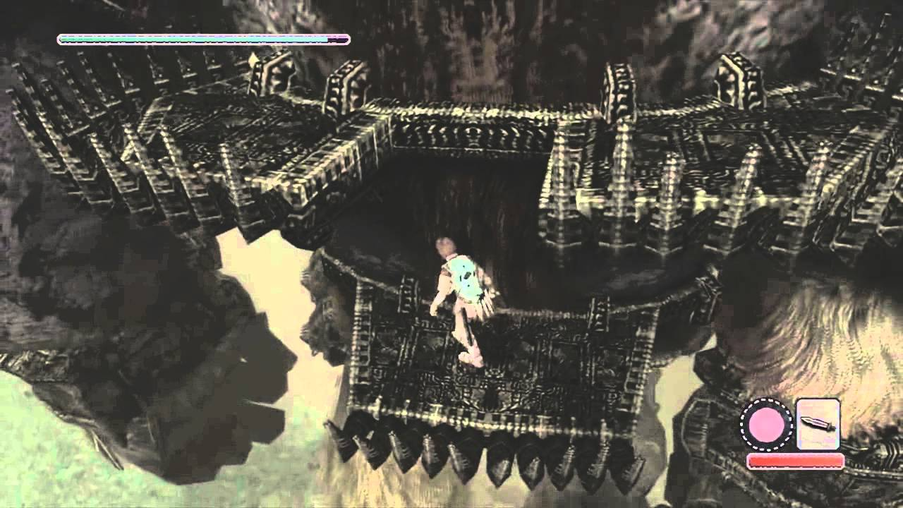 Shadow Of The Colossus PS3: Part 2: The Minotaur - Valus ...