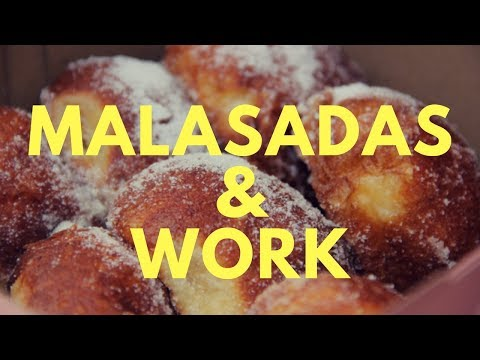 TWO WEEK CHALLENGE: WORK LIFE/MALASADAS DAILY VLOG 2