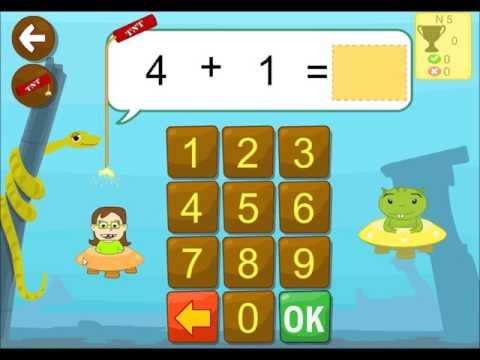Ejercicios sumar matemáticas aplicación para niños