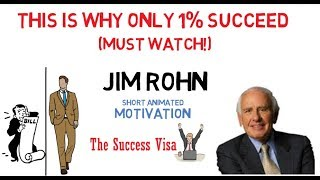 Jim Rohn Motivation - This Is Why Only 1% Succeed(Must Watch!)