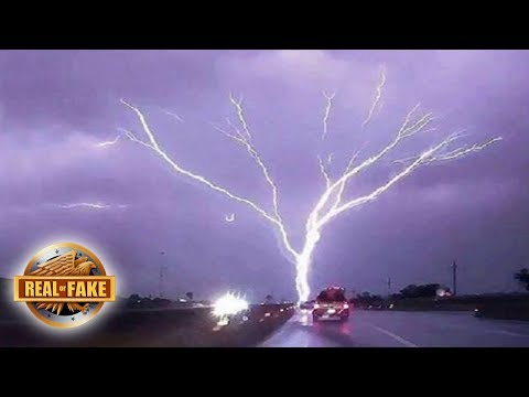 Thumbnail: HUGE TREE SHAPED LIGHTNING BOLT - real or fake?