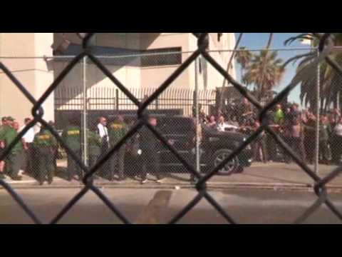 Raw: Justin Bieber Exits Jail After DUI Arrest