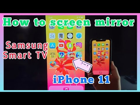 How To Screen Mirror Iphone 11, How To Mirror Iphone 11 Samsung Tv