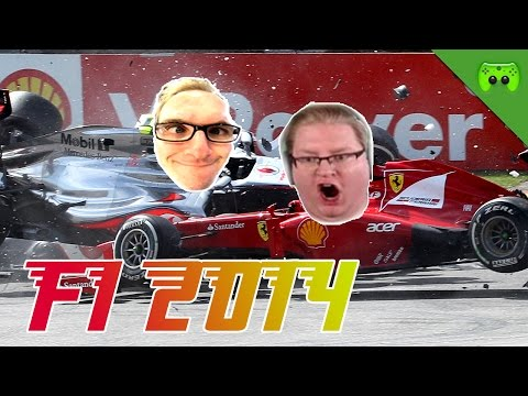F1 2014 # 6 - GP von Bahrain 2/2 «» Let's Play F1 2014 PC | Full HD