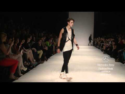 MENS SHOW - MERCEDES-BENZ FASHION WEEK AUSTRALIA SPRING SUMMER 2012/13 COLLECTIONS