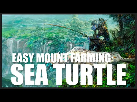 Easy Sea Turtle Mount (WoD 7.0.3) How To Swim Faster In World Of Warcraft