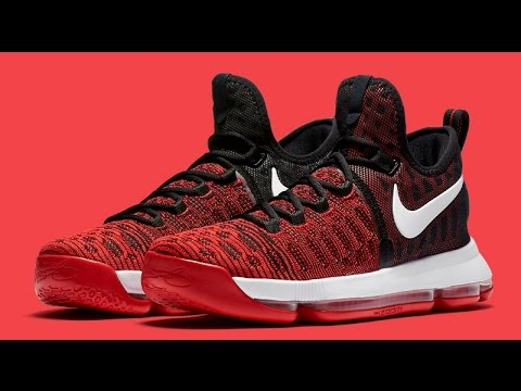 low priced 3db43 43d3a Hard Work Can Pay Off With This New Nike KD 9 In University Red
