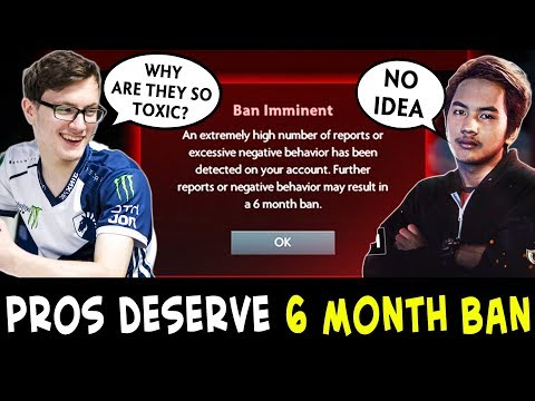 MOST TOXIC pro players who deserve 6 MONTH BAN