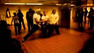 NYC Subway Station Xmas Eve 2011