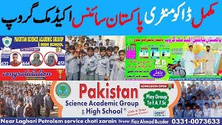Pakistan Science Academic Group    Report on Pakistan Science Academic Group