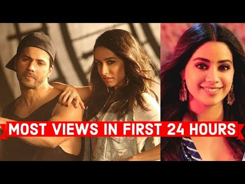 Most Viewed Indian Songs in First 24 Hours
