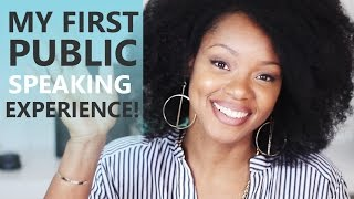 My First Public Speaking Experience | BorderHammer