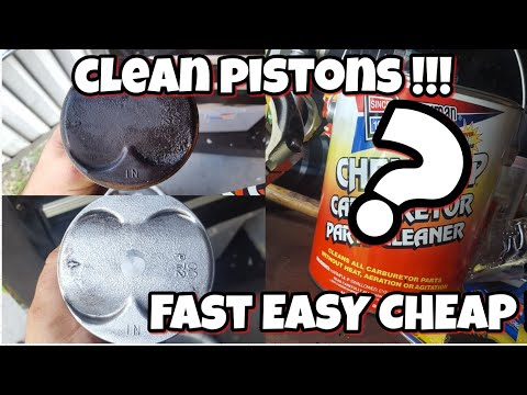 Clean pistons/ remove carbon super easy!
