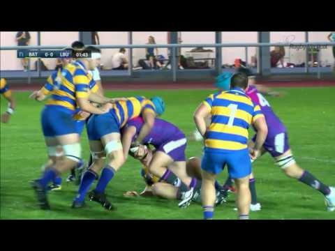 BUCS Super Rugby: Bath vs. Loughborough FULL MATCH | Round 3, 19 October 2016
