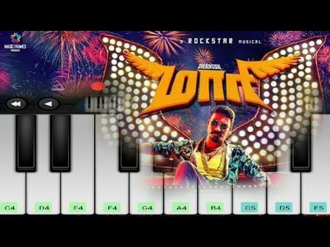 Maari Swag Theme Music | Maari | Danush | Anirudh | Tamil Movie | Mobile Piano