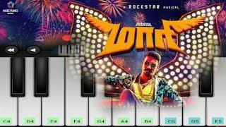 Maari Swag Theme Music | Maari | Danush | Anirudh | Tamil Movie | Mobile Piano
