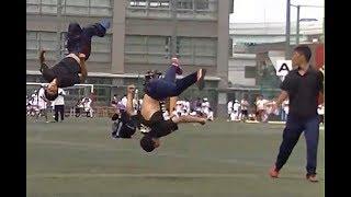 2017 東福岡高校体育祭【部活対抗リレー】パフォーマンス組