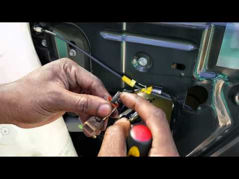 Replacing a bad Door Ajar switch03' Expedition  YouTube