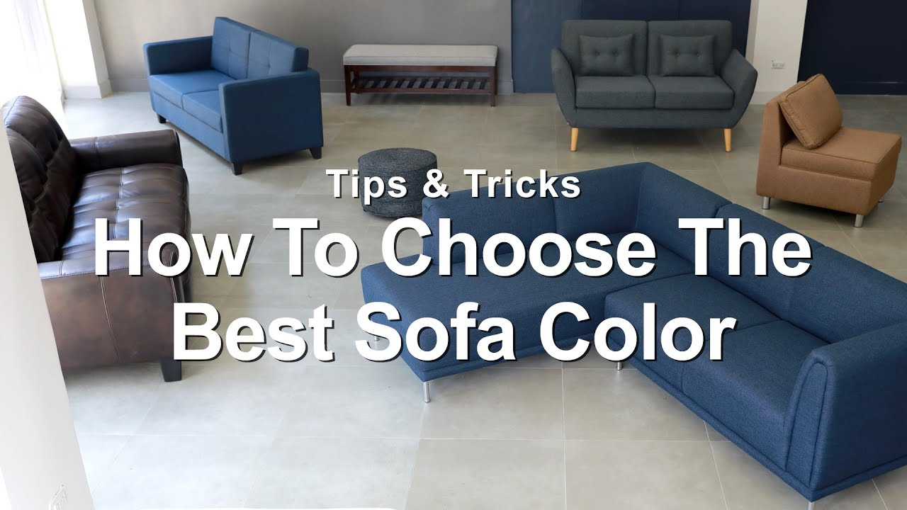 How To Choose The Best Sofa Color  MF Home TV