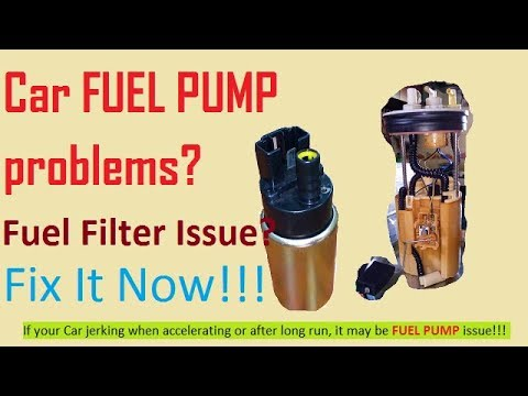 How to replace Car Fuel pump ( In Hindi) !!! Fuel filter replacement !!!  Fix fuel pump problems