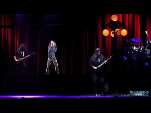 Ronnie James Dio Hologram Rocks Pollstar Awards