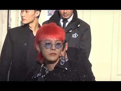 G-Dragon 권지용 GD @ Paris Fashion Week 3 october 2017 show Chanel / octobre #PFW
