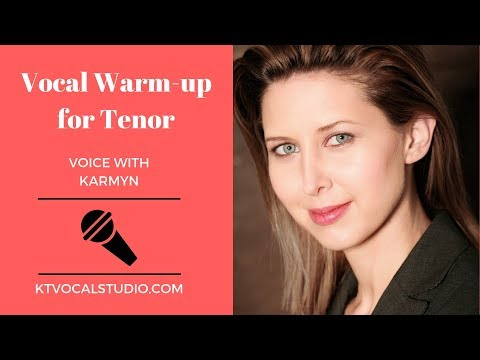 Vocal Warm-ups for Tenor