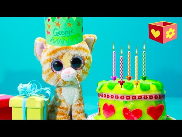 Cute cat Simba | Happy Birthday George | Bellboxes for children | 10