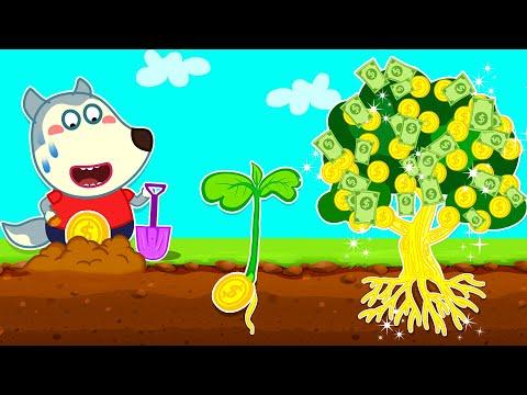 How to Plant a Money Tree? - Wolfoo Kids Stories | Wolfoo Family Kids Cartoon