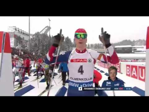 Biathlon World Championships 2016 - Men's Pursuit race