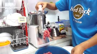 Panasonic MK-MG1500 Meat Grinder 1st touch....