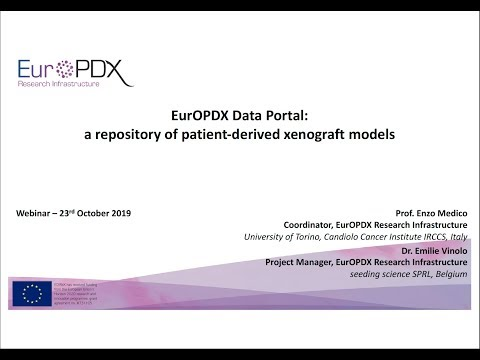 EurOPDX Data Portal: A Repository Of Patient-derived Xenograft Models