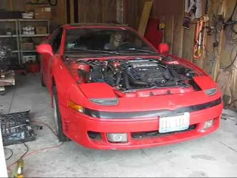 it lives! 3000gt VR4 JDM engine swap