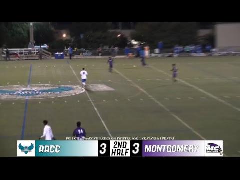 MSOC: 10/16/2018 AACC Riverhawks vs.Montgomery College Raptors