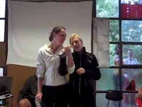 Doubí 2007 - Karaoke - Zuzka a Šárka