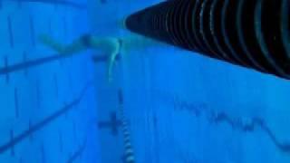 Dolphin kick & swim uw view